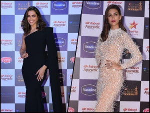 Deepika Padukone Kriti Sanon And Other Divas At The Star Screen Awards