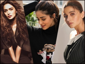 Ananya Panday Alia Bhatt And Manushi Chhillar Gives Black Fashion Goals For Winter
