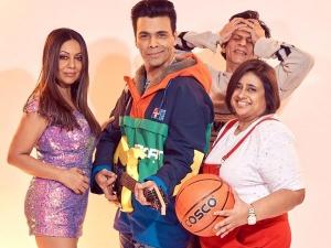 Gauri Khan Karan Johar And Kaajal Anand Recreates Kuch Kuch Hota Hai As Tina Rahul And Anjali