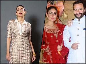 Kareena Kapoor Khan And Karisma Kapoor In Ethereal Outfits For Armaan Jain S Engagement