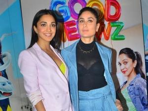 Kareena Kapoor Khan And Kiara Advani In Pantsuits For Good Newwz Promotions
