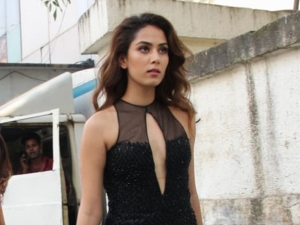 Shahid Kapoor S Wife Mira Rajput Kapoor In A Black Embellished Gown