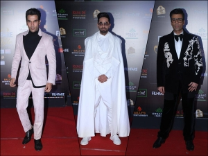 Ayushmann Khurrana Karan Johar And Other B Town Actors At Filmfare Glamour And Style