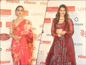 Deepika Padukone Kriti Sanon And Divas At The Lokmat Most Stylish Awards