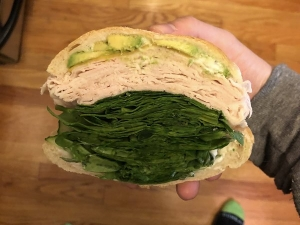 Turkey Sandwich Contains More Spinach Less Meat Viral