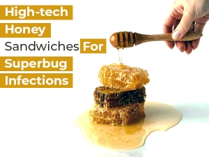 High Tech Honey Sandwich Could Help Fight Superbug Infections