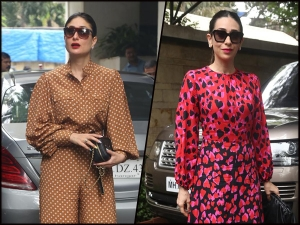 Kareena Kapoor Khan And Karisma Kapoor S Outfits For Christmas Bash