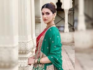 Panipat Actress Kriti Sanon S Marathi Avatar