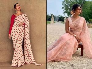 Priyanka Chopra Jonas Most Gorgeous Saris Of The Year