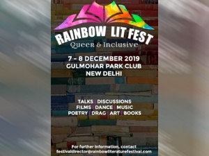 Rainbow Lit Fest The First Ever Literature Festival For Queer And Inclusive