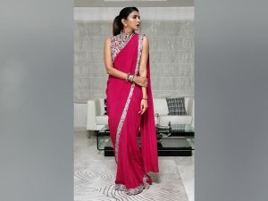 Lakshmi Manchu's Sari Is The Vibrant Wedding Wear You Need For Your Friend's Wedding