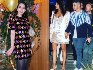 Karisma Kapoor And Priyanka Chopra Jonas Dresses