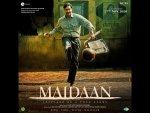 Tanhaji Actor Ajay Devgn S Maidaan Poster Look
