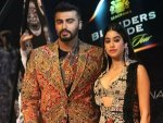 Janhvi Kapoor Arjun Kapoor Walked The Ramp For Anamika Khanna Blenders Pride Fashion Tour