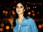 Katrina Kaif In A Denim Jumpsuit At Vicky Kaushal S Amazon Prime Event