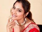 Kajol In Anita Dongre S Red Sari For Tanhaji Promotions