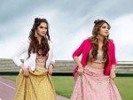 Sania Mirza And Anam Mirza Give Wedding Fashion Goals In Lehenga
