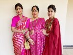 Shetty Sisters Shilpa And Shamita Flaunt Traditional Looks On Their Instagram Feeds