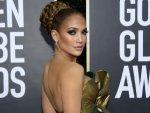 Jennifer Lopez Steals The Golden Globes Red Carpet In A Stunning Braided Bun