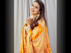 Tanhaji Actress Kajol S Traditional Fashion And Tanhaji Look Test