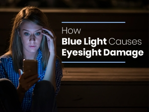 How Blue Light Emitted From Mobile Phones Damage Your Eyes