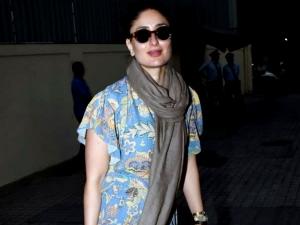 Kareena Kapoor Khan Spotted With Saif Ali Khan And Casual Fashion