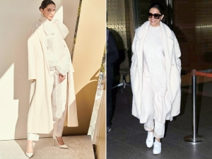 Deepika Padukone In Louis Vuitton Campaign And White Outfit In Davos