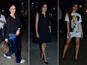 Kareena Kapoor Khan Pooja Bedi Alaya F At Jawaani Jaaneman Screening Event