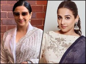 Vidya Balan S Best Sari Looks In 2019 On Her Birthday
