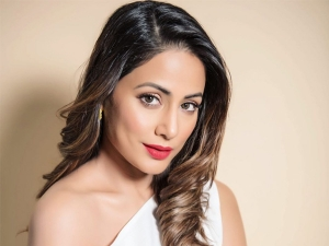Hacked Actress Hina Khan Stuns In Her Latest Fitlook Magazine Photoshoot