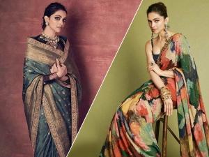 Chhapaak Actress Deepika Padukone S Latest Sabyasachi Saris
