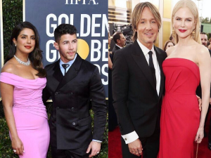Golden Globes 2020 From Priyanka Nick To Ellen Portia Couples Who Gave Us Major Fashion Goals