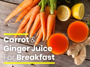 Carrot Ginger Juice Benefits And Recipe