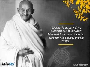 Martyr Day Mahatma Gandhi 72nd Death Anniversary
