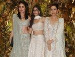 Kareena Kapoor Khan And Karisma Kapoor At Armaan Jain Wedding Reception