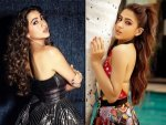Love Aaj Kal 2 Actress Sara Ali Khan In Electric Dress And Swimsuit