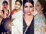 Madhuri Dixit Nene Samantha Akkineni And Other Divas Give Sari Goals