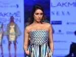 Shraddha Kapoor Turns Showstopper For Pankaj Nidhi At Lakme Fashion Week Summer Resort