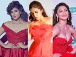 Urvashi Rautela Bhumi Pednekar And Tahira Kashyap In Red Gowns For An Event