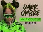 Dark Ombre Hair Color Ideas
