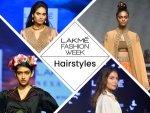 Lakme Fashion Week Hairstyles