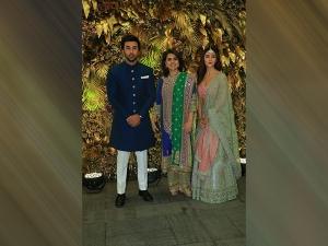 Ranbir Kapoor And Alia Bhatt In Ethnic Outfits At Armaan Jain S Wedding Reception