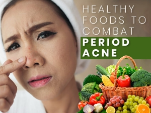 Healthy Foods To Combat Period Acne