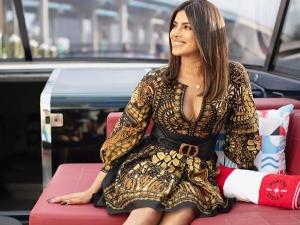 Priyanka Chopra Jonas In A Printed Dress At Miami Festival