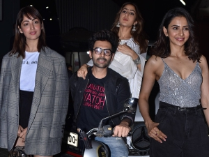 Rakul Preet Singh Yami Gautam And Other Divas At Love Aaj Kal 2 Screening