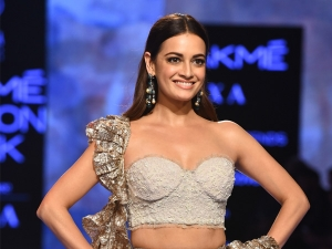 Dia Mirza Turns Showstopper For House Of Kotwara At Lakme Fashion Week Summer Resort