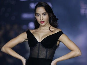 Nora Fatehi Turns Showstopper For Gauri Nainika At Lakme Fashion Week Summer Resort