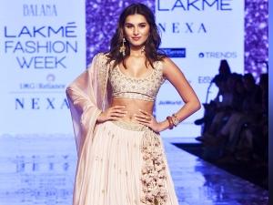 Tara Sutaria Turns Showstopper For Punit Balana At Lakme Fashion Week Summer Resort