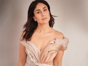 Kareena Kapoor Khan In Pastel Gown For Pre Interviews At Lakme Fashion Week Summer Resort