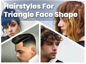 Best Hairstyles For Triangle Shape Face